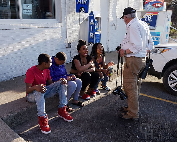 East Pittsburgh kids hanging out at the Sunoco mini-mart