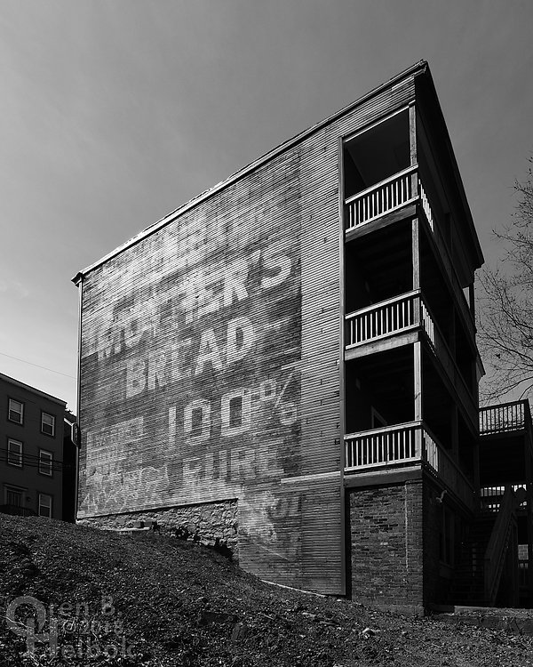 Mother's Bread ghost sign, Dobson Street, Polish Hill, Pittsburgh
