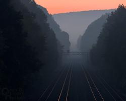 The Broad Way at dawn