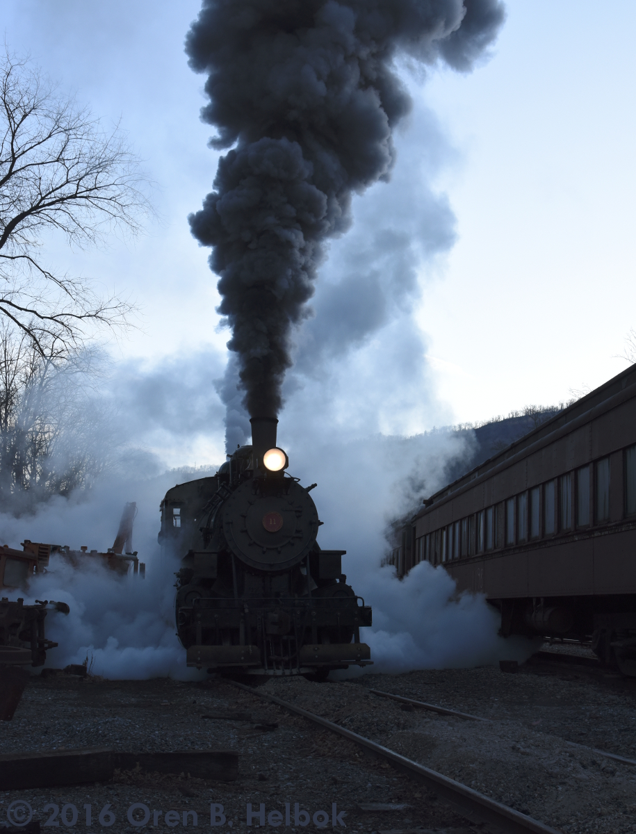 Enginehouse track, Claysburg