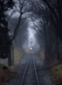 Strasburg Rail Road #89 approaching Groundhog Cut