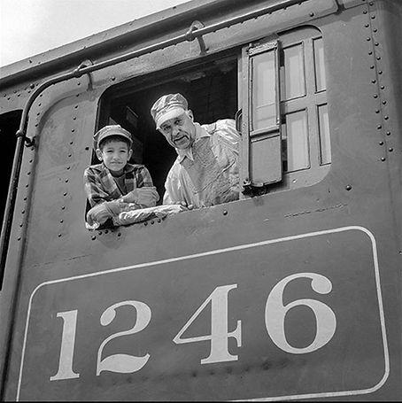 Andy Barbera, Oren B Helbok, Steamtown, CPR 1246