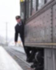 Alex Merrill, Strasburg Rail Road brakeman