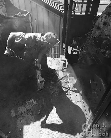 Strasburg Rail Road hostler Dave Lotfi firing #475