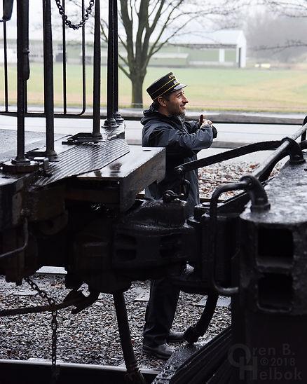 Dave Lotfi, Strasburg Rail Road conductor