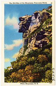 Old Man of the Mountain, Franconia Notch, New Hampshire
