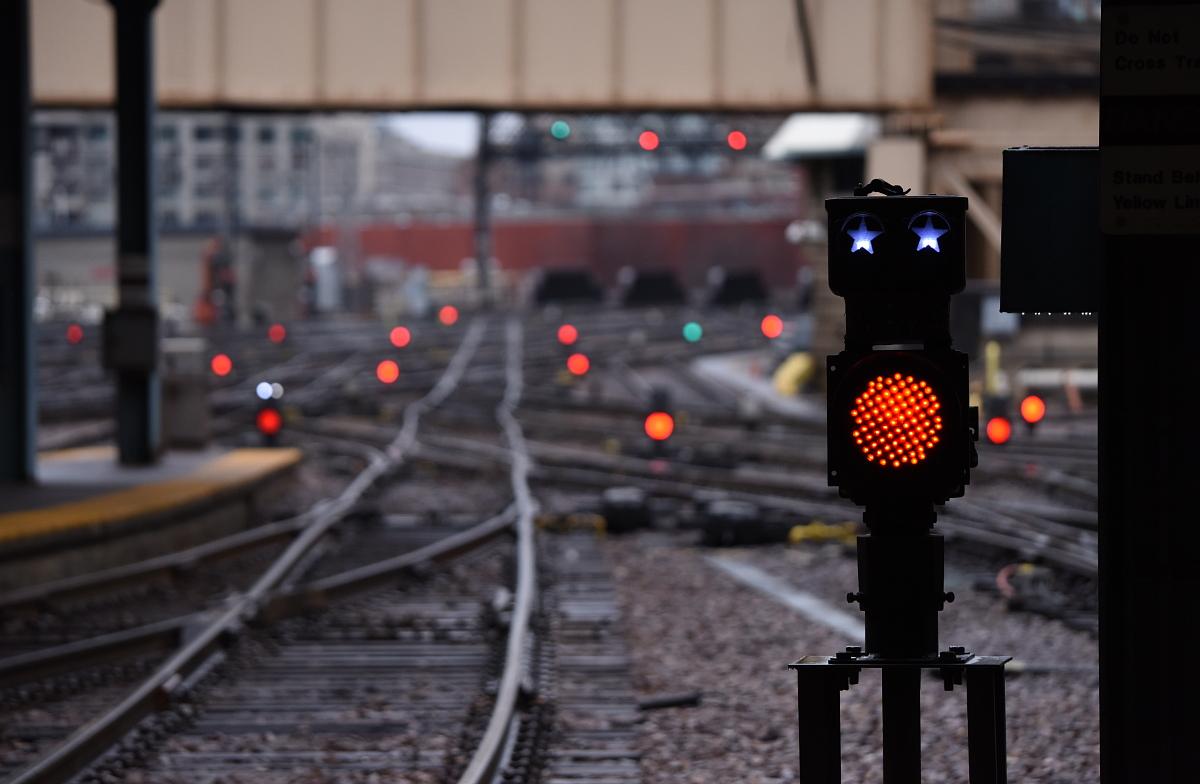 Signals at C&NW Terminal