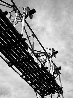 Burlington signals at Rochelle