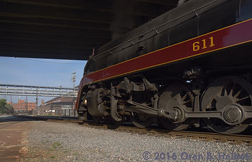 N&W 611, Norfolk & Western 611, East End Shops, Roanoke