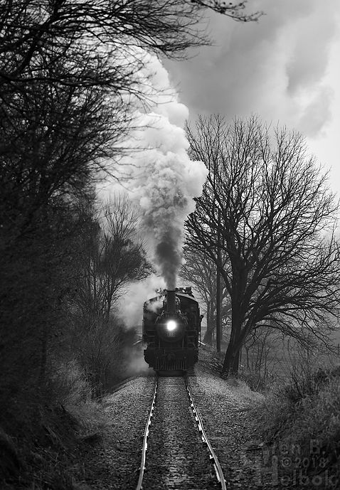 Strasburg Rail Road #89 approaching Carpenters