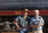 Oren Helbok, Richard Boylan,N&W 611, Norfolk & Western 611, Roanoke