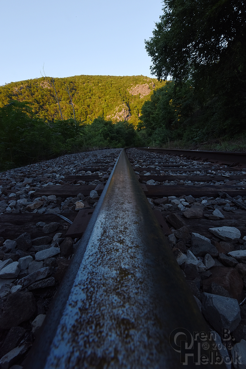 Water Gap railhead view 2