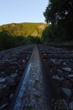 Water Gap railhead view 2