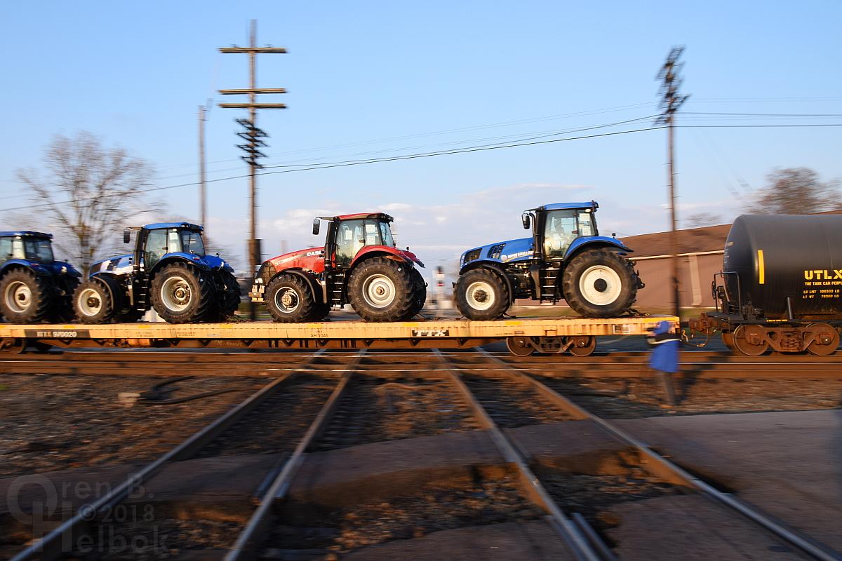 George Hiotis and CSX freight