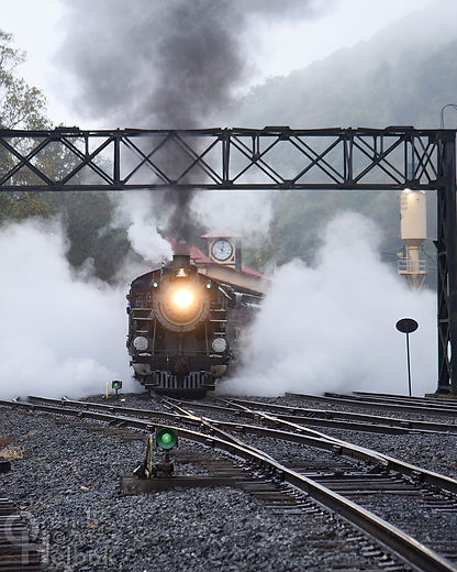 Reading & Northern #425 Pacific locomotive Port Clinton Pennsylvania