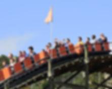 Knoebels Phoenix roller coaster