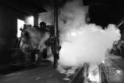 #89 leaving enginehouse