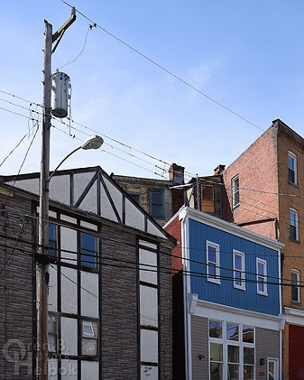 Dobson Street skyline, Polish Hill, Pittsburgh