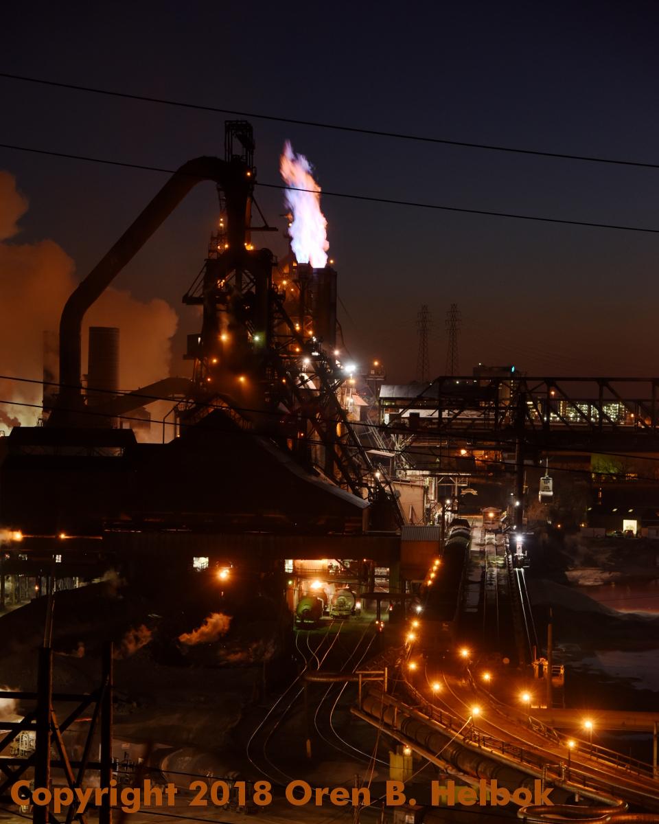 Arcelor Mittal steel mill, Cleveland