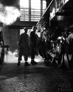 #26's crew and steam