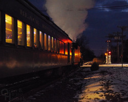 North Pole Express leaves Flemington