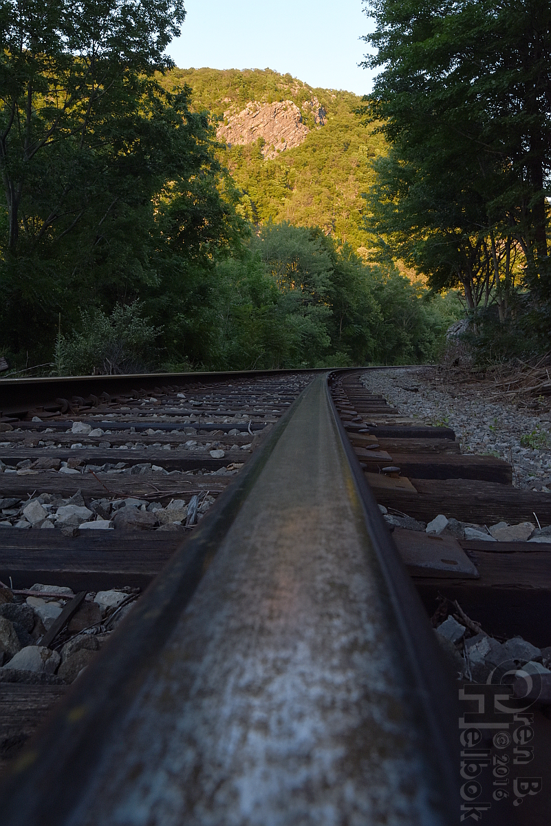 Water Gap railhead view 3