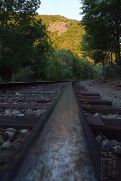 Water Gap railhead view 3