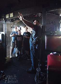 Strasburg Rail Road hostling tour with Anthony DeBellis in the cab