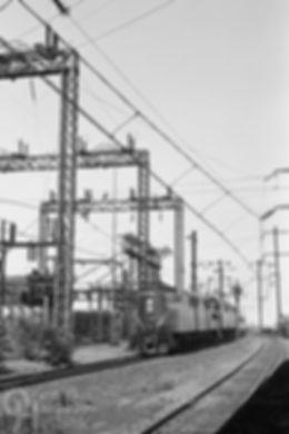 Amtrak Pennsylvania Railroad GG1 4935 eastbound, North River Tunnel, North Bergen, New Jersey, Oren B. Helbok photo