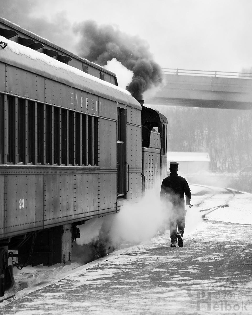 Trainman at Hollidaysburg