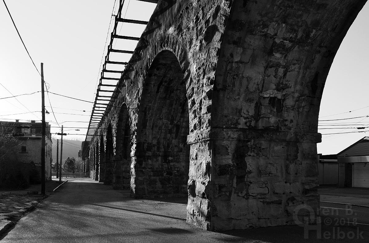 B&O bridge arches