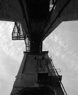 Dekalb coal dock looking up