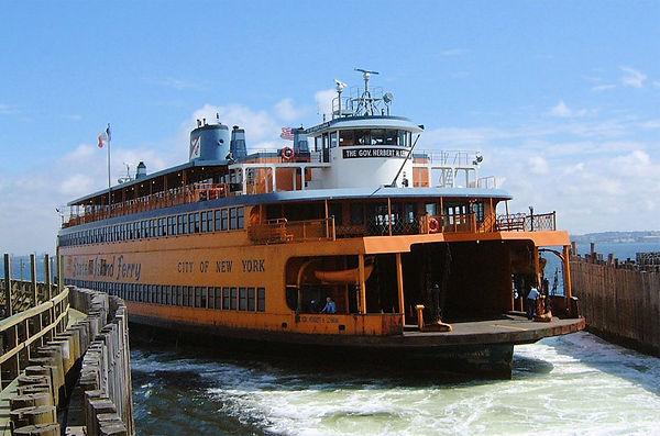 Staten Island Ferry, Gov Herbert H Lehman, St George Ferry Terminal, wheresteamlives.net