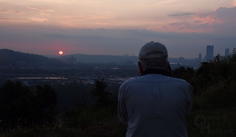 George Hiotis sunrise Pittsburgh, Oren B Helbok photo