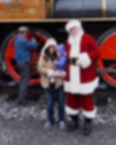 Santa Claus at Steam Into History, New Freedom, Pa.