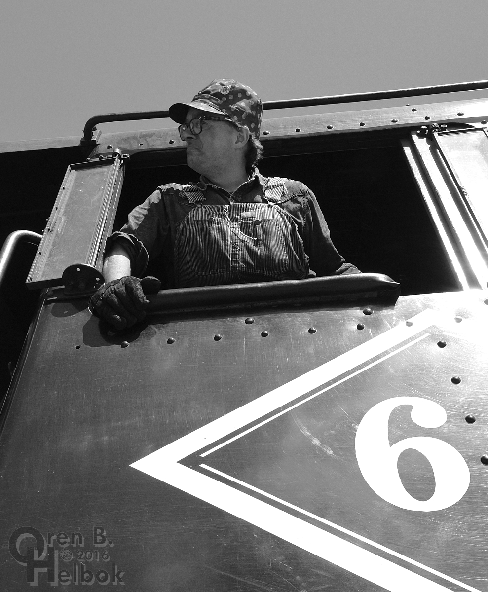 Engineer Frank Capalbo at Flemington