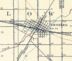 Deshler Ohio 1906 USGS map