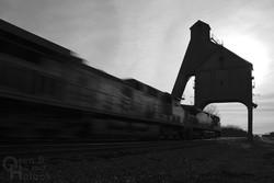 Eastbound U.P. freight