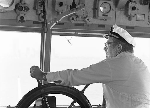 Staten Island Ferry, ferry captain, Staten Island Ferry captain, New York Harbor, Oren B Helbok photo