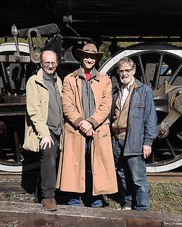 Richard Boylan Oren Helbok John Helbok chasing trains