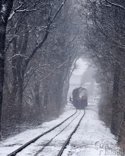 Train 2 on runaround at Leaman Place