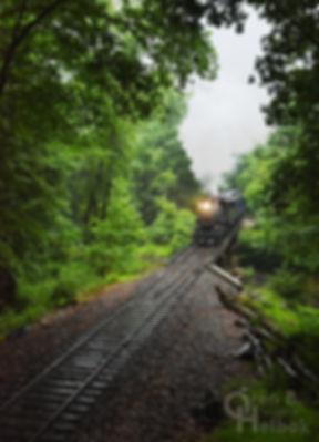 Wilmington & Western Railroad #98 crossing Red Clay Creek