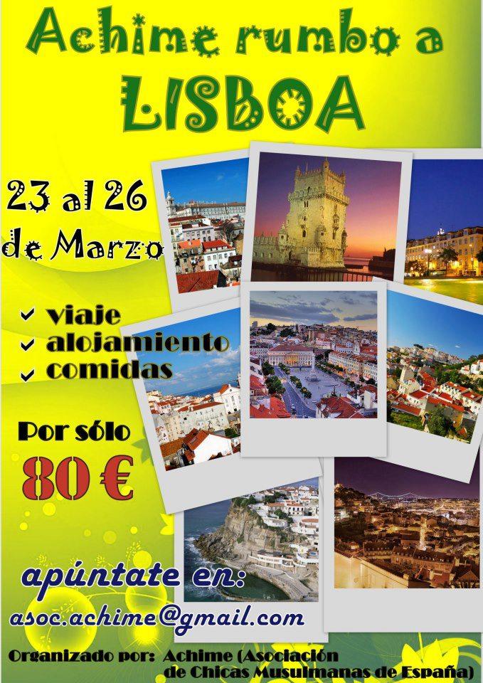 Rumbo a Lisboa
