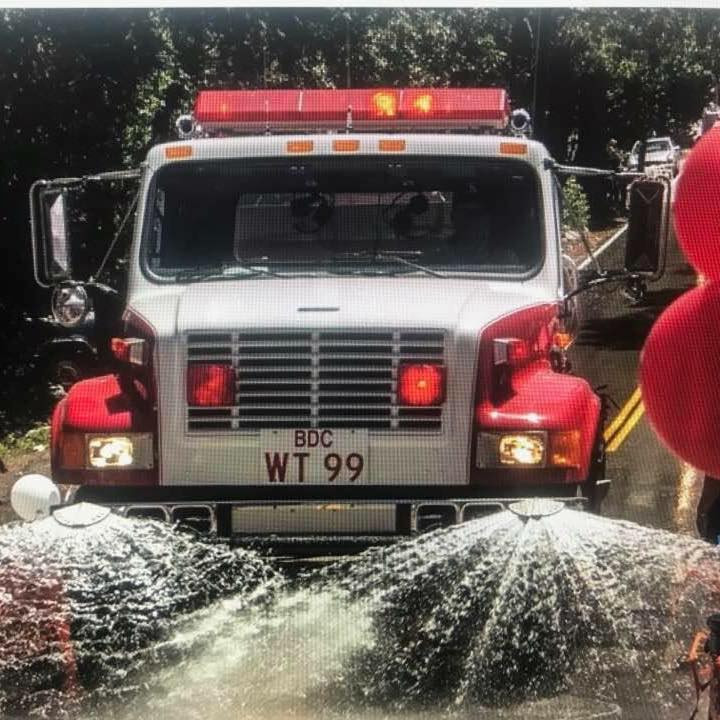 Forest Falls Water Tender