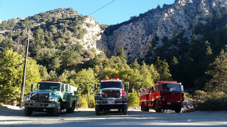Forest Falls Fire Equipment