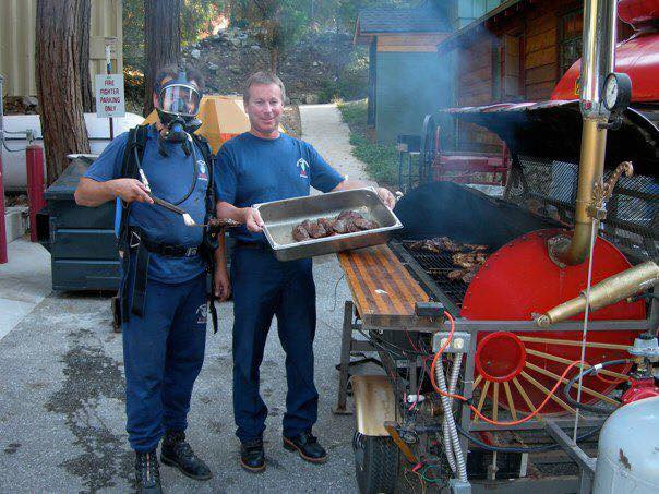 Firefighters' Labor Day BBQ Fundraiser