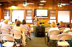 Classes at Big Falls Lodge