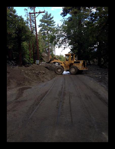 Mudslide Clean-Up