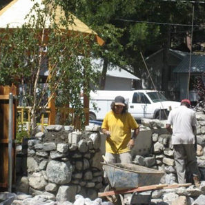 2007 Big Falls Lodge Construction