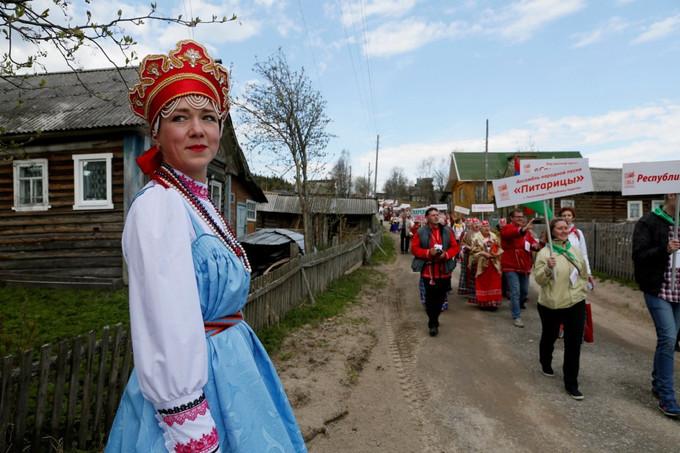 Фольклорный фестиваль в Умбе